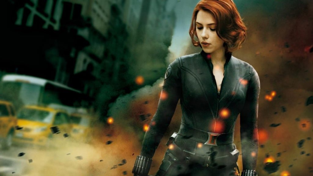 Scarlett Johansson Black Widow Avengers HD Wallpaper 1080x607 1024x576 5422954