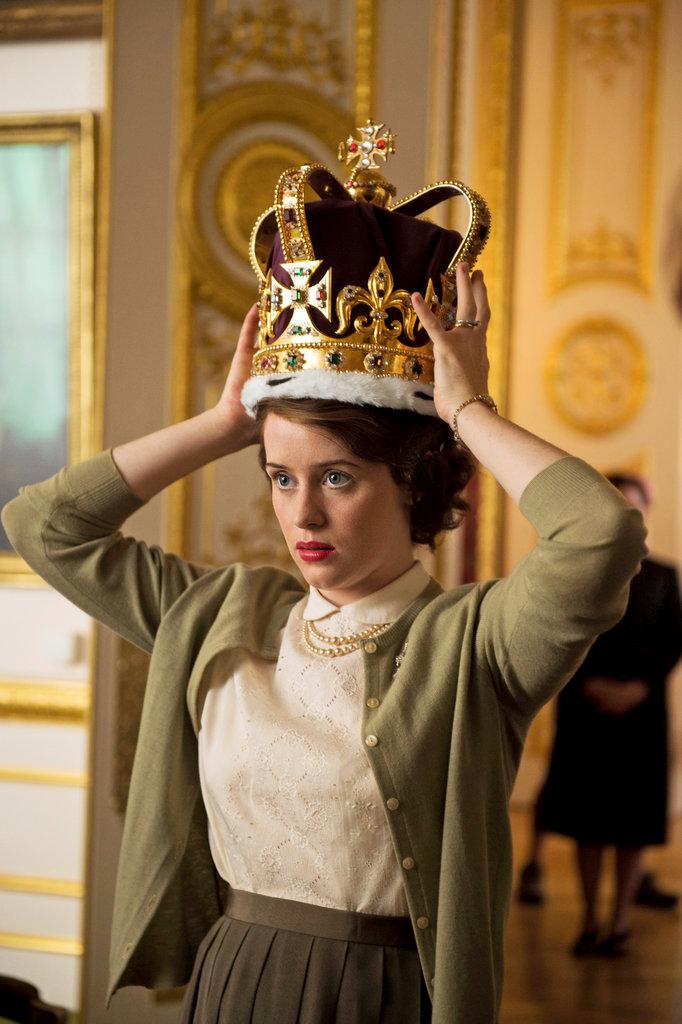 Critica the crown a s