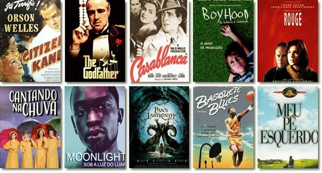 Os melhores filmes de todos